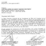 LUIS CARLOS GALÁN DE LUCHA CONTRA LA CORRUPCIÓN